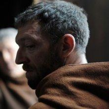 Una immagine di Vincent Cassel dal film Le moine