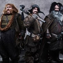Ecco altri tre nani di The Hobbit: An Unexpected Journey: Stephen Hunter interpreta Bombur, James Nesbitt Bofur e William Kircher Bifur