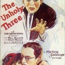 La locandina di The Unholy Three