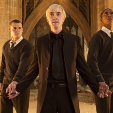 Tom Felton in Harry Potter e i doni della morte parte 2