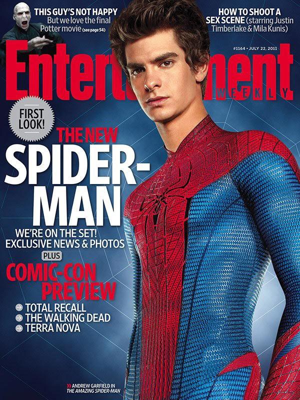 Andrew Garfield Protagonista Di The Amazing Spider Man Sulla Copertina Di Entertainment Weekly 209285