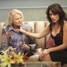 Candice Bergen e Lisa Edelstein nell'episodio Family Practice di Dr House