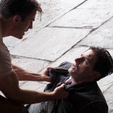 Chris Evans e JJ Feild  in Captain America: il primo vendicatore