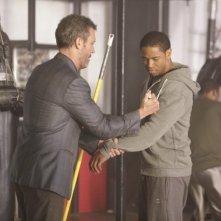 Hugh Laurie e Kevin Phillips nell'episodio The Fix di Dr House