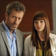 Hugh Laurie ed Amber Tamblyn nell'episodio Last Temptation di Dr House