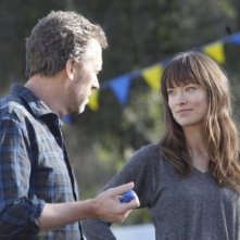 Hugh Laurie ed Olivia Wilde nell'episodio The Dig di Dr House
