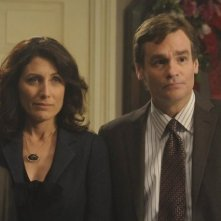 Robert Sean Leonard e Lisa Edelstein nell'episodio Fall from Grace di Dr House