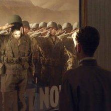 Una scena dell'action Captain America: il primo vendicatore