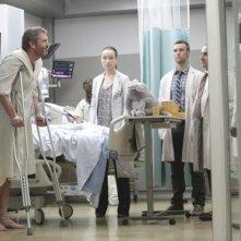 Una scena dell'episodio 'Andare avanti' di House