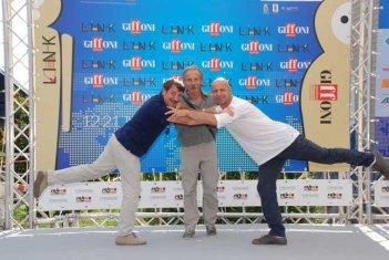 Aldo, Giovanni e Giacomo a Giffoni nel 2011
