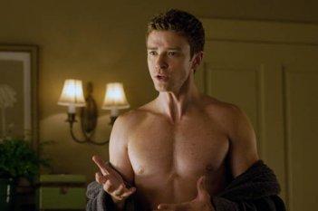 Justin Timberlake, protagonista maschile della commedia Amici di letto: istruzioni per l'uso