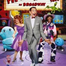 La locandina di The Pee-Wee Herman Show on Broadway