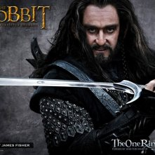 Primo sguardo a Richard Armitage nei panni di Thorin Oakenshield in  The Hobbit: An Unexpected Journey