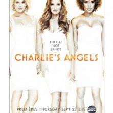 Un poster della nuova versione di Charlie's Angels