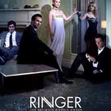Uno dei primi poster della serie TV Ringer