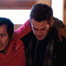 Hayden Christensen con John Leguizamo nel film Vanishing on 7th Street