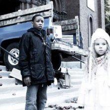 Jacob Latimore in una sequenza del film Vanishing on 7th Street
