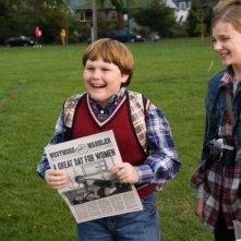 Robert Capron e Chloe Moretz in un'immagine di Diary of a Wimpy Kid con