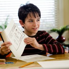 Una immagine di Zachary Gordon dalla commedia Diary of a Wimpy Kid