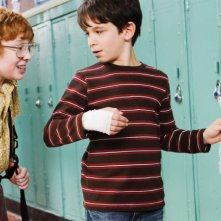 Zachary Gordon, combinaguai in Diary of a Wimpy Kid