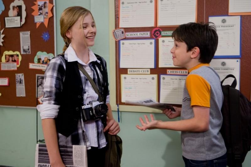 Zachary Gordon E Chloe Moretz In Un Immagine Di Diary Of A Wimpy Kid Con 209725