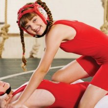 Zachary Gordon e Laine MacNeil in una scena di Diary of a Wimpy Kid con