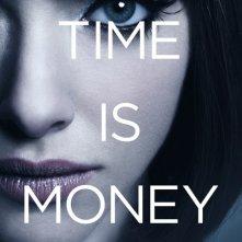 Character poster di un'Amanda Seyfried mora in In Time