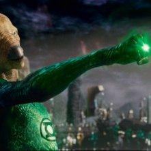 Il personaggio di Tomar-Re in una scena di Lanterna Verde