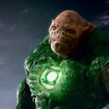 Il personaggio di Tomar-Re in una sequenza di Lanterna Verde
