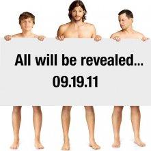Un primo poster promozionale della nona stagione di Two and a Half Men con la new entry Ashton Kutcher