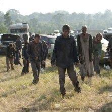 Una delle prime immagini della stagione 2 di The Walking Dead