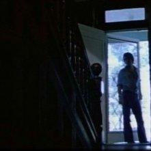 Una scena del cult Non aprite quella porta