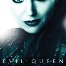 Character poster per il personaggio della Evil Queen (Lana Parrilla) della serie Once Upon a Time