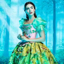 Ecco la prima immagine di Lily Collins nei panni di Biancaneve in The Brothers Grimm: Snow White