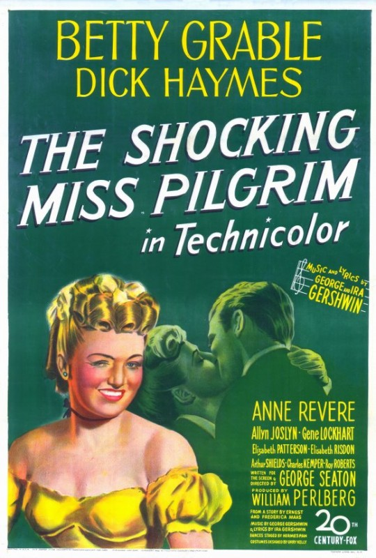 La Locandina Di The Shocking Miss Pilgrim 210006