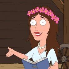 Anne Hathaway interpreta Madre Maggie nell'episodio Go, Stewie, Go! della serie-tv I Griffin