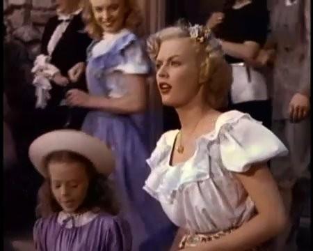 June Haver In Una Scena Di Scudda Hoo Scudda Hay Alle Sue Spalle Marilyn Monroe Con I Capelli Rossi 210113