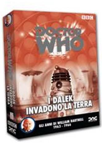 La Copertina Di Doctor Who I Dalek Invadono La Terra Dvd 210089