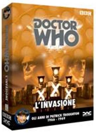 La Copertina Di Doctor Who L Invasione Dvd 210090