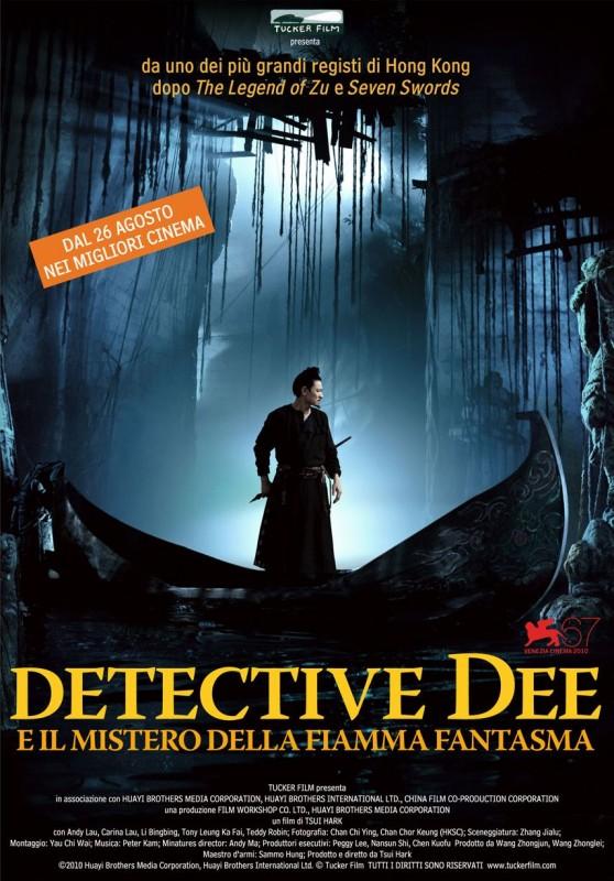 La Locandina Italiana Di Detective Dee E Il Mistero Della Fiamma Fantasma 210024