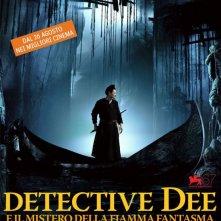 La locandina italiana di Detective Dee e il mistero della fiamma fantasma