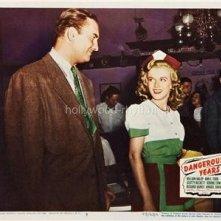 Una immagine promo del film Dangerous Years in cui appare Marilyn Monroe