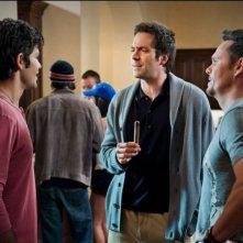 Adrian Grenier, Rhys Coiro e Kevin Dillon in una scena dell'episodio Home Sweet Home dell'ottava stagione di Entourage