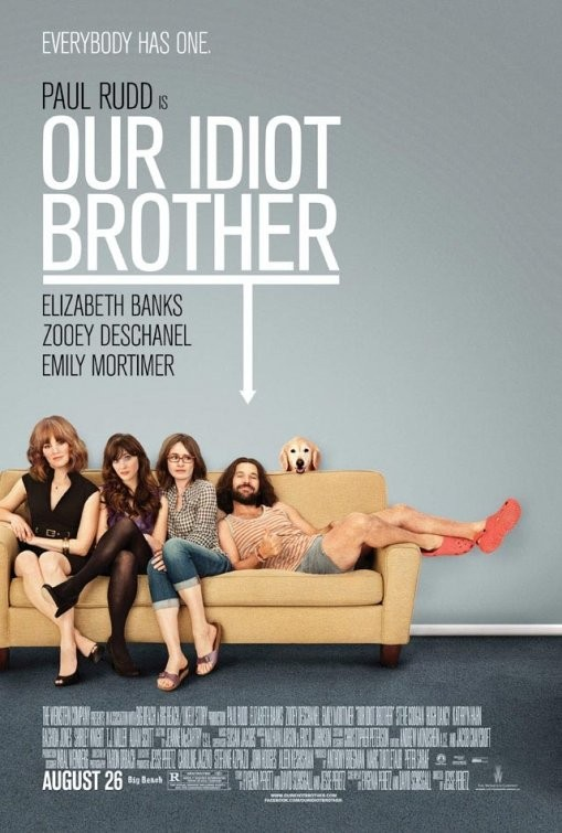 Ancora Un Folle Poster Per Our Idiot Brother 210122