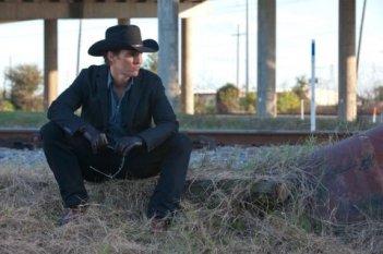 Ancora una cupa immagine del killer su commissione Matthew McConaughey in Killer Joe