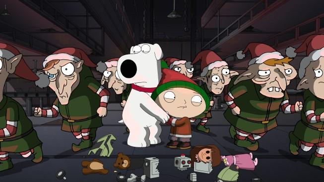 Brian E Stewie Spaventati In Road To The North Pole Della Serie Tv I Griffin 210287