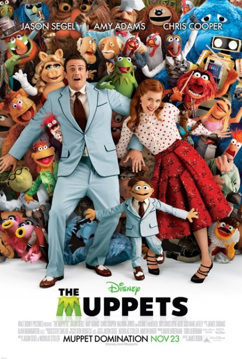Ecco La Nuova Affollata Locandina De I Muppet 210296