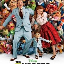 Ecco la nuova affollata locandina de I Muppet