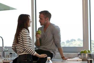 Emma Stone e Ryan Gosling nella commedia Crazy, Stupid Love