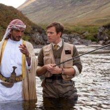 Ewan McGregor alle prese con uno sceicco amante della pesca in Salmon Fishing in the Yemen